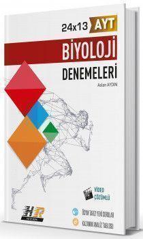 Hız ve Renk Yayınları AYT Biyoloji 24x13 Denemeleri