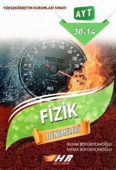 Hız ve Renk Yayınları YKS 2. Oturum AYT Fizik Denemeleri 30x14