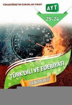 Hız ve Renk Yayınları YKS 2. Oturum AYT Türk Dili ve Edebiyatı Denemeleri 25x24