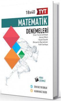 Hız ve Renk Yayınları TYT Matematik 18 x 40 Denemeleri