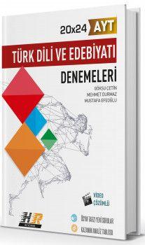 Hız ve Renk Yayınları AYT Türk Dili ve Edebiyatı 20x24 Denemeleri