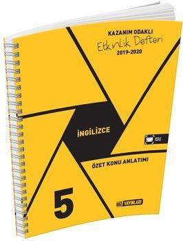Hız Yayınları 5. Sınıf İngilizce Etkinlik Defteri