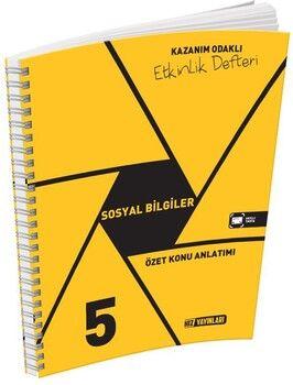 Hız Yayınları 5. Sınıf Sosyal Bilgiler Kazanım Odaklı Etkinlik Defteri