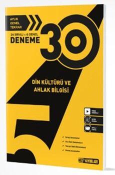 Hız Yayınları 5. Sınıf Din Kültürü 30 lu Deneme