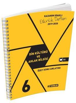 Hız Yayınları 6. Sınıf Din Kültürü ve Ahlak Bilgisi Etkinlik Defteri