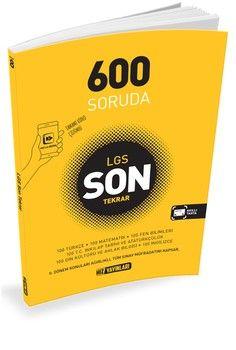 Hız Yayınları 600 Soruda LGS Son Tekrar