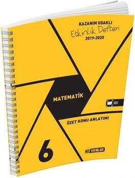 Hız Yayınları 6. Sınıf Matematik Kazanım Odaklı Etkinlik Defteri
