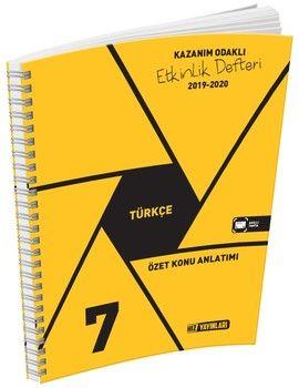 Hız Yayınları 7. Sınıf Türkçe Etkinlik Defteri