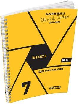 Hız Yayınları 7. Sınıf İngilizce Etkinlik Defteri
