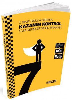 Hız Yayınları 7. Sınıf Tüm Dersler Kazanım Kontrol Soru Bankası
