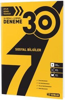 Hız Yayınları 7. Sınıf Sosyal Bilgiler 30 lu Deneme