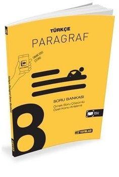 Hız Yayınları 8. Sınıf Türkçe Paragraf Soru Bankası