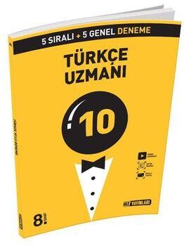 Hız Yayınları 8. Sınıf LGS Türkçe Uzmanı 10 Deneme
