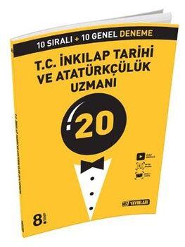 Hız Yayınları 8. Sınıf LGS T.C. İnkılap Tarihi ve Atatürkçülük Uzmanı 20 Deneme