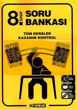 Hız Yayınları 8. Sınıf Tüm Dersler Kazanım Kontrol Soru Bankası