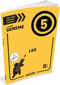 Hız Yayınları 8. Sınıf LGS 5 Deneme