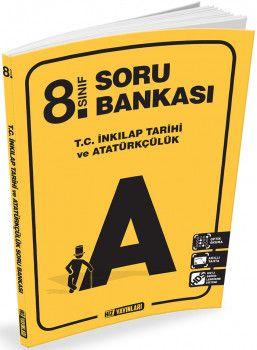 Hız Yayınları 8. Sınıf T. C. İnkılap Tarihi ve Atatürkçülük Soru Bankası
