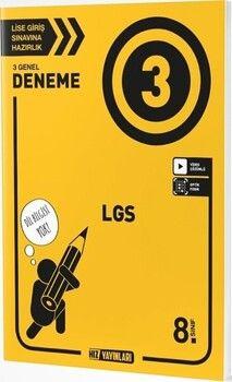 Hız Yayınları 8. Sınıf LGS 3 Deneme