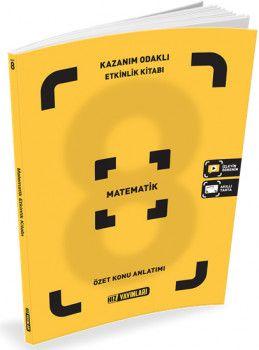 Hız Yayınları 8. Sınıf Matematik Kazanım Odaklı Etkinlik Kitabı