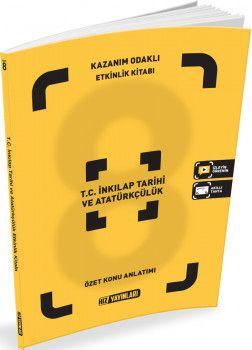 Hız Yayınları 8. Sınıf T.C. İnkılap Tarihi ve Atatürkçülük Kazanım Odaklı Etkinlik Kitabı Özet Konu Anlatımlı