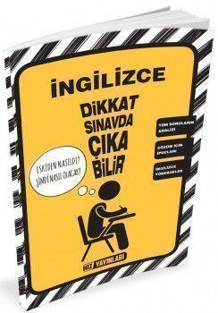 Hız Yayınları 8. Sınıf LGS İngilizce Soru Analizi Cep Kitapçığı
