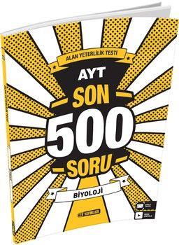 Hız Yayınları AYT Biyoloji Son 500 Soru