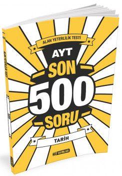Hız Yayınları AYT Tarih Son 500 Soru