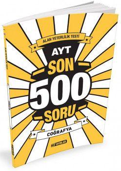 Hız Yayınları AYT Coğrafya Son 500 Soru