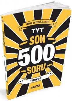 Hız Yayınları TYT Türkçe Son 500 Soru