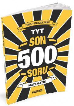 Hız Yayınları YKS 1. Oturum TYT Matematik Son 500 Soru