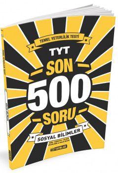 Hız Yayınları YKS 1. Oturum TYT Sosyal Bilimler Son 500 Soru