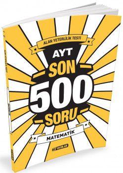 Hız Yayınları YKS 2. Oturum AYT Matematik Son 500 Soru