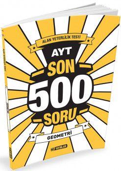 Hız Yayınları YKS 2. Oturum AYT Geometri Son 500 Soru
