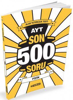Hız Yayınları YKS 2. Oturum AYT Fizik Son 500 Soru