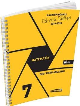 Hız Yayınları7. Sınıf Matematik Etkinlik Defteri