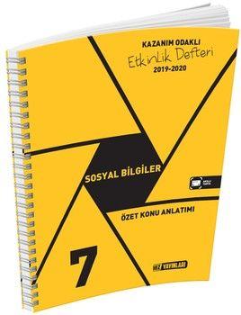 Hız Yayınları7. Sınıf Sosyal Bilgiler Etkinlik Defteri