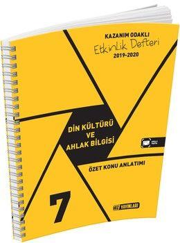 Hız Yayınları7. Sınıf Din Kültürü ve Ahlak Bilgisi Etkinlik Defteri