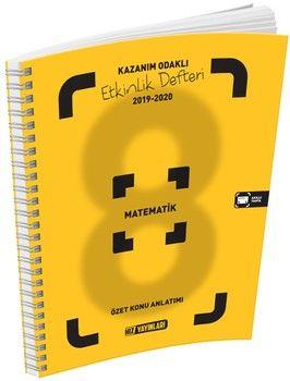 Hız Yayınları8. Sınıf Matematik Etkinlik Defteri
