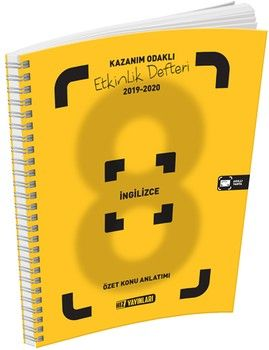 Hız Yayınları8. Sınıf İngilizce Etkinlik Defteri