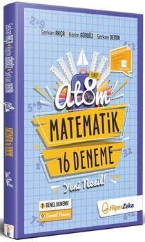 Hiper Zeka 8. Sınıf Matematik Atom 16 Deneme