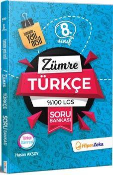 Hiper Zeka 8. Sınıf Türkçe Zümre Soru Bankası