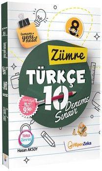 Hiper Zeka 8. Sınıf Türkçe Zümre 10 Deneme