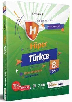 Hiper Zeka 8. Sınıf Türkçe Hiper Konu Anlatımlı Soru Bankası