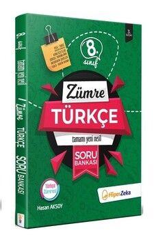 Hiper Zeka 8. Sınıf Türkçe Yeni Nesil Soru Bankası