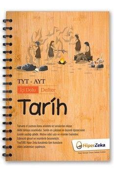 Hiper Zeka Yayınları TYT AYT Tarih İçi Dolu Defter