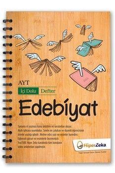 Hiper Zeka Yayınları  AYT Edebiyat İçi Dolu Defter