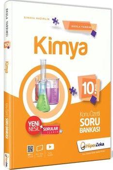Hiper Zeka Yayınları 10. Sınıf Kimya Konu Özetli Soru Bankası