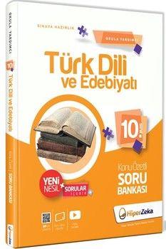 Hiper Zeka Yayınları 10. Sınıf Türk Dili ve Edebiyatı Konu Özetli Soru Bankası