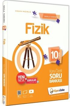 Hiper Zeka Yayınları 10. Sınıf Fizik Konu Özetli Soru Bankası