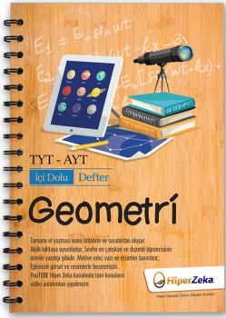 Hiper Zeka Yayınları TYT AYT Geometri İçi Dolu Defter